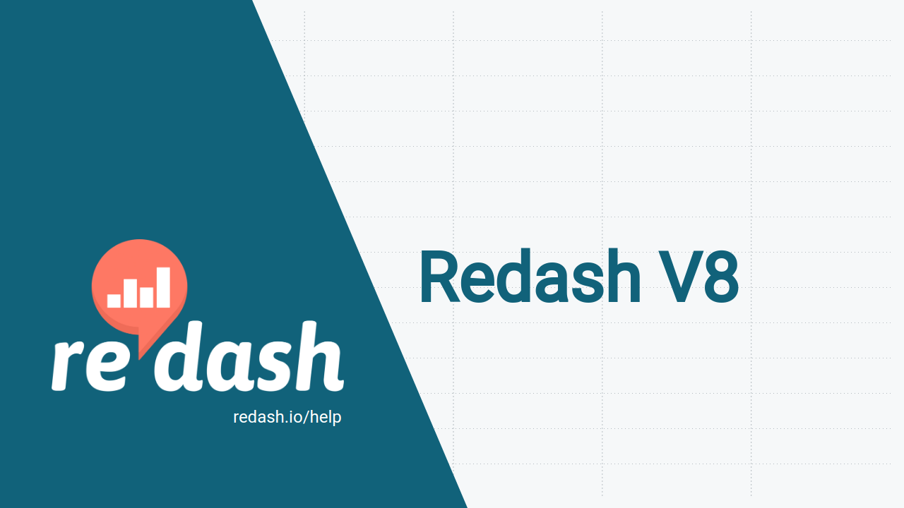 Redash V8: parameters support in embeds and much more